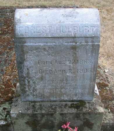 HULBURT, FORREST MAUD - Linn County, Oregon   FORREST MAUD HULBURT - Oregon Gravestone Photos