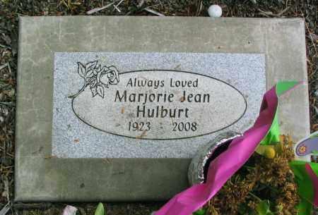 HULBURT, MARJORIE JEAN - Linn County, Oregon | MARJORIE JEAN HULBURT - Oregon Gravestone Photos