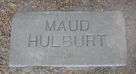 HULBURT, MAUD - Linn County, Oregon | MAUD HULBURT - Oregon Gravestone Photos