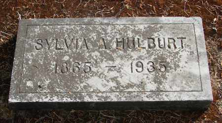 HULBURT, SYLVIA ANN - Linn County, Oregon | SYLVIA ANN HULBURT - Oregon Gravestone Photos
