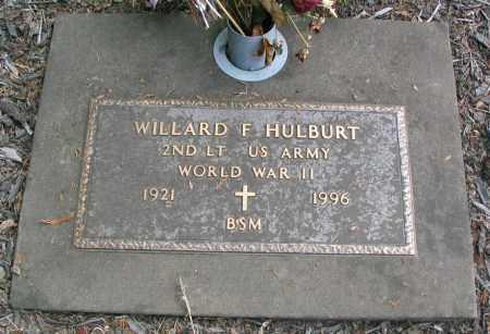 HULBURT, WILLARD FRANKLIN SR - Linn County, Oregon | WILLARD FRANKLIN SR HULBURT - Oregon Gravestone Photos
