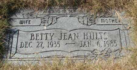 HULTS, BETTY JEAN - Linn County, Oregon | BETTY JEAN HULTS - Oregon Gravestone Photos