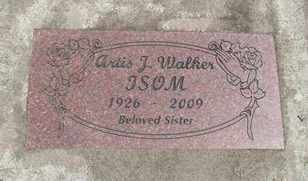 WALKER, ARTIS J - Linn County, Oregon   ARTIS J WALKER - Oregon Gravestone Photos