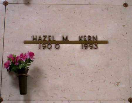 KERN, HAZEL M - Linn County, Oregon | HAZEL M KERN - Oregon Gravestone Photos