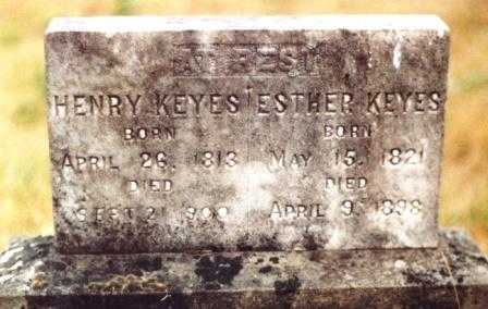 KEYES, ESTHER - Linn County, Oregon | ESTHER KEYES - Oregon Gravestone Photos