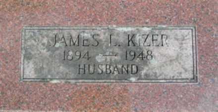 KIZER, JAMES L. - Linn County, Oregon | JAMES L. KIZER - Oregon Gravestone Photos