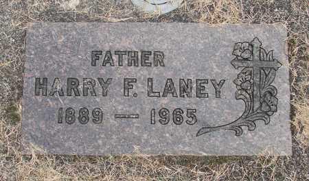 LANEY, HARRY F - Linn County, Oregon | HARRY F LANEY - Oregon Gravestone Photos