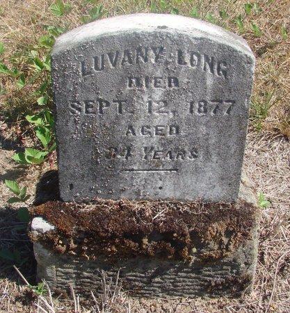 LONG, LUVANY - Linn County, Oregon   LUVANY LONG - Oregon Gravestone Photos