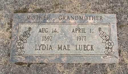 LUECK, LYDIA MAE - Linn County, Oregon | LYDIA MAE LUECK - Oregon Gravestone Photos
