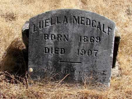 MEDCALF, LUELLA - Linn County, Oregon | LUELLA MEDCALF - Oregon Gravestone Photos