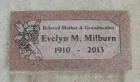 BROWN, EVELYN MAUDE - Linn County, Oregon   EVELYN MAUDE BROWN - Oregon Gravestone Photos