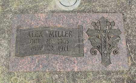 MILLER, ALEX - Linn County, Oregon   ALEX MILLER - Oregon Gravestone Photos