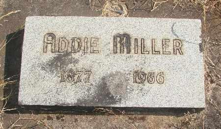 MILLER, ADDIE G - Linn County, Oregon   ADDIE G MILLER - Oregon Gravestone Photos