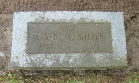 MILLER, ALBERT A - Linn County, Oregon | ALBERT A MILLER - Oregon Gravestone Photos