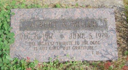 MILLER, ALBERT A - Linn County, Oregon   ALBERT A MILLER - Oregon Gravestone Photos