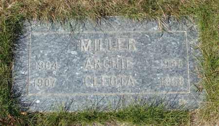 MILLER, ARCHIE - Linn County, Oregon   ARCHIE MILLER - Oregon Gravestone Photos