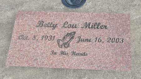 MILLER, BETTY LOU - Linn County, Oregon | BETTY LOU MILLER - Oregon Gravestone Photos