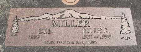 MILLER, DEE - Linn County, Oregon | DEE MILLER - Oregon Gravestone Photos