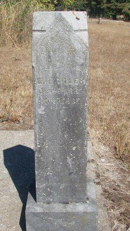 MILLER, C H - Linn County, Oregon | C H MILLER - Oregon Gravestone Photos