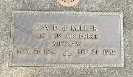 MILLER, DAVID JAMES - Linn County, Oregon | DAVID JAMES MILLER - Oregon Gravestone Photos