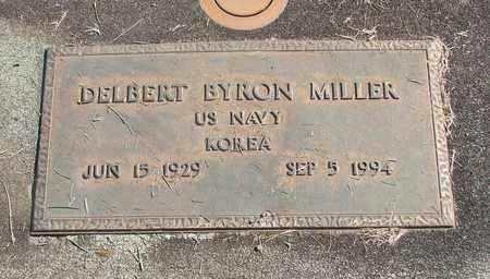 MILLER, DELBERT BYRON - Linn County, Oregon   DELBERT BYRON MILLER - Oregon Gravestone Photos
