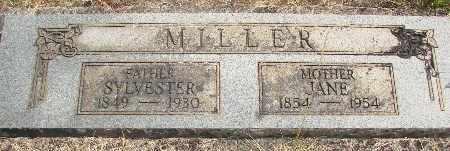 MILLER, SYLVESTER - Linn County, Oregon | SYLVESTER MILLER - Oregon Gravestone Photos