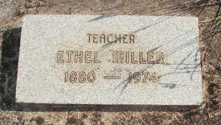 MILLER, ETHEL - Linn County, Oregon | ETHEL MILLER - Oregon Gravestone Photos