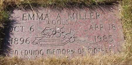 MILLER, EMMA A - Linn County, Oregon | EMMA A MILLER - Oregon Gravestone Photos