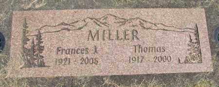 MILLER, THOMAS - Linn County, Oregon | THOMAS MILLER - Oregon Gravestone Photos