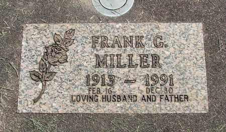 MILLER, FRANK GEORGE - Linn County, Oregon | FRANK GEORGE MILLER - Oregon Gravestone Photos
