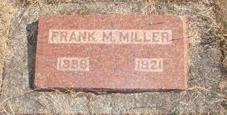 MILLER, FRANK MERRITT - Linn County, Oregon | FRANK MERRITT MILLER - Oregon Gravestone Photos