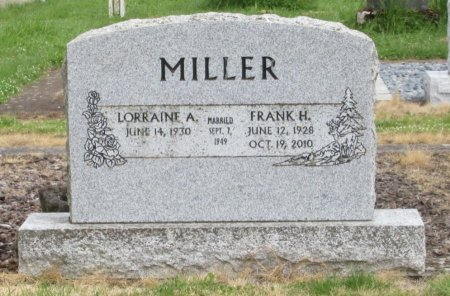 MILLER, LORRAINE A - Linn County, Oregon | LORRAINE A MILLER - Oregon Gravestone Photos