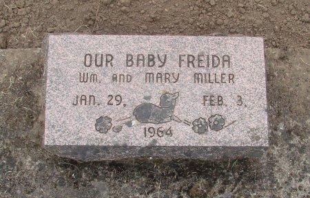 MILLER, FREIDA - Linn County, Oregon | FREIDA MILLER - Oregon Gravestone Photos