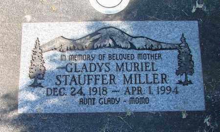 MILLER, GLADYS MURIEL - Linn County, Oregon   GLADYS MURIEL MILLER - Oregon Gravestone Photos