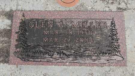 MILLER, GLEN ALLEN - Linn County, Oregon   GLEN ALLEN MILLER - Oregon Gravestone Photos