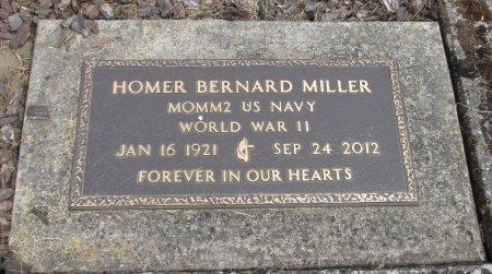 MILLER, HOMER BERNARD - Linn County, Oregon | HOMER BERNARD MILLER - Oregon Gravestone Photos