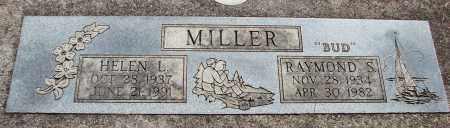 MILLER, RAYMOND S - Linn County, Oregon | RAYMOND S MILLER - Oregon Gravestone Photos