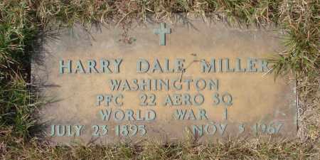 MILLER, HARRY DALE - Linn County, Oregon | HARRY DALE MILLER - Oregon Gravestone Photos