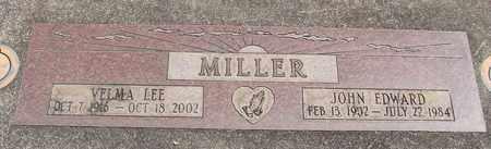 MILLER, VELMA LEE - Linn County, Oregon | VELMA LEE MILLER - Oregon Gravestone Photos