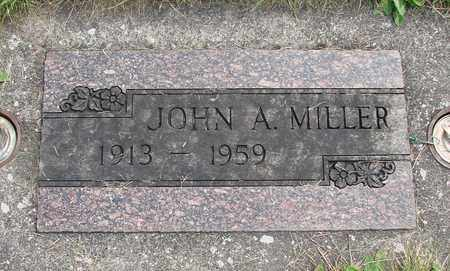 MILLER, JOHN A - Linn County, Oregon | JOHN A MILLER - Oregon Gravestone Photos