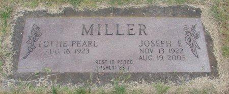 MILLER, JOSEPH E - Linn County, Oregon | JOSEPH E MILLER - Oregon Gravestone Photos