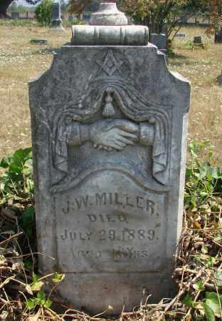 MILLER, JOHN WILLIAM SR - Linn County, Oregon   JOHN WILLIAM SR MILLER - Oregon Gravestone Photos