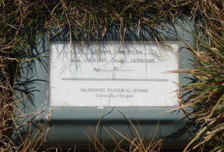 MILLER, JOHANNA - Linn County, Oregon | JOHANNA MILLER - Oregon Gravestone Photos