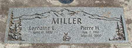 MILLER, LORRAINE L - Linn County, Oregon   LORRAINE L MILLER - Oregon Gravestone Photos