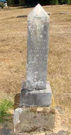 MILLER, LEROY BYRON - Linn County, Oregon   LEROY BYRON MILLER - Oregon Gravestone Photos