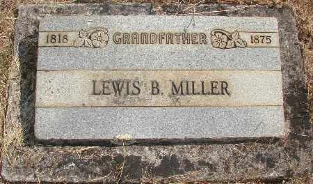 MILLER, LEWIS B - Linn County, Oregon   LEWIS B MILLER - Oregon Gravestone Photos