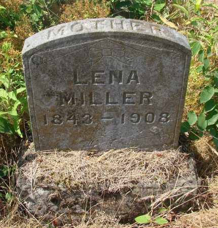 MILLER, LENA - Linn County, Oregon | LENA MILLER - Oregon Gravestone Photos