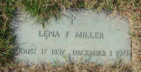 MILLER, LENA F - Linn County, Oregon   LENA F MILLER - Oregon Gravestone Photos