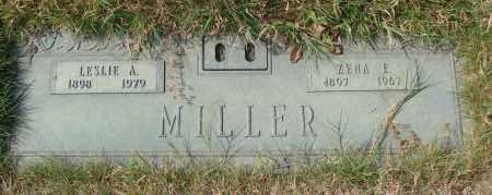 MILLER, ZENA E - Linn County, Oregon   ZENA E MILLER - Oregon Gravestone Photos