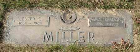 MILLER, LESTER C - Linn County, Oregon | LESTER C MILLER - Oregon Gravestone Photos
